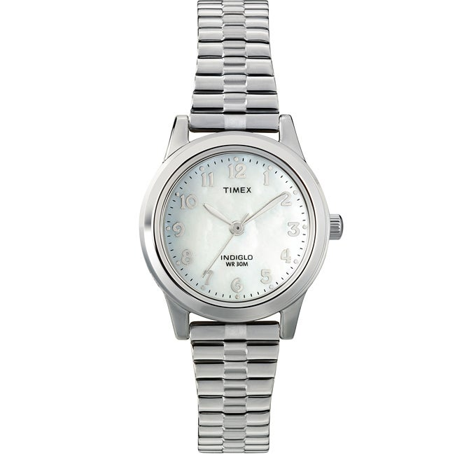 Timex Women's T2M826 Elevated Classics Dress Stainless St...
