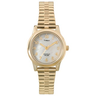 Timex Women's T2M827 Stainless Steel Elevated Classics Dress Expansion Band Watch