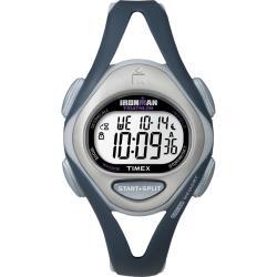 Timex T5K4519J Women's Ironman Sleek 50-lap Blue/ Light Blue/ Silvertone Watch - Thumbnail 0