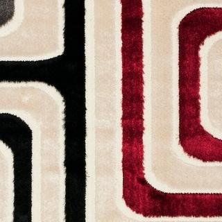 Safavieh Miami Shag Meenakshi Abstract Rug