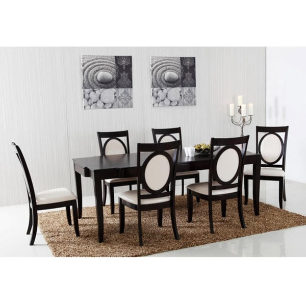 HD wallpapers allen espresso finish 7 piece dining set with extension leaf Page 2