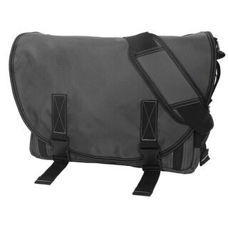 DadGear Classic Diaper Bag in Steel