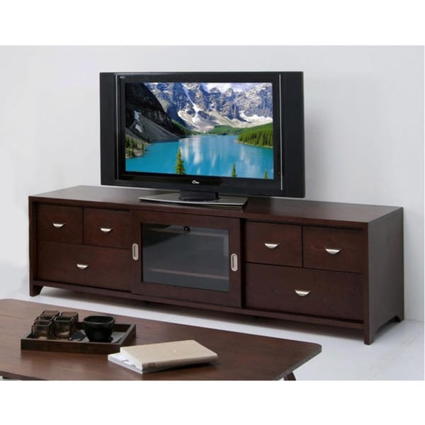 Shop Zentro 80 Inch Tv Console Free Shipping Today Overstockcom