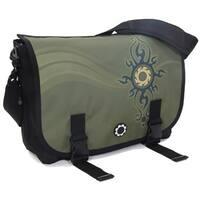 DadGear Messenger Diaper Bag, Zen Sun