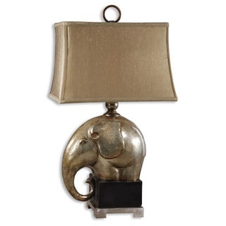 Uttermost Abayomi 1-light Antique Champagne Table Lamp