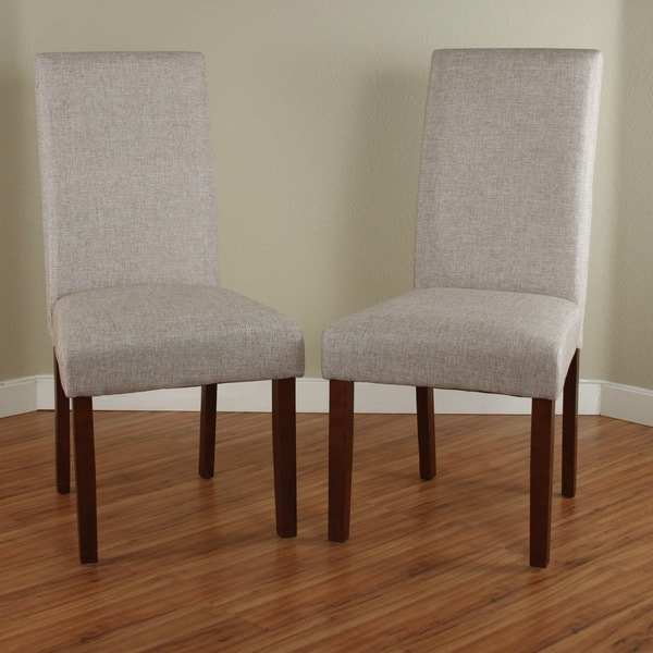 Seville Linen Dining Chairs Set Of 2 Free Shipping