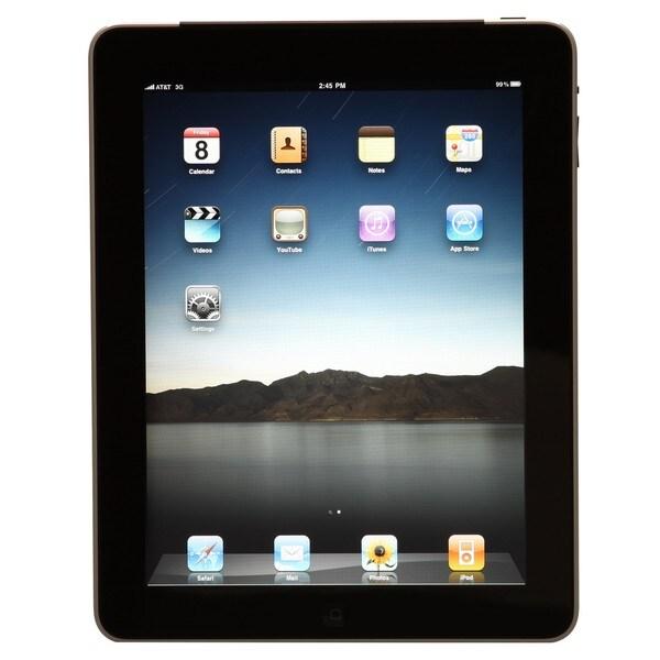 Apple iPad Tablet 1st Generation 64GB Wi-Fi+3G (Refurbished)