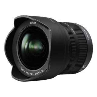 Panasonic H-F007014 - 7 mm to 14 mm - f/4 - Ultra Wide Angle Zoom Len