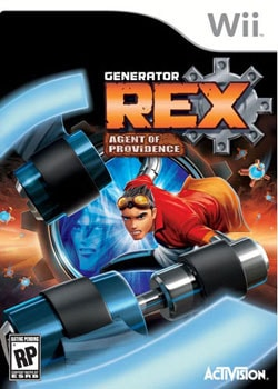 Wii - Generator Rex: Agent of Providence - By Activision