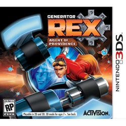 Nintendo 3DS - Generator Rex: Agent of Providence - By Activision