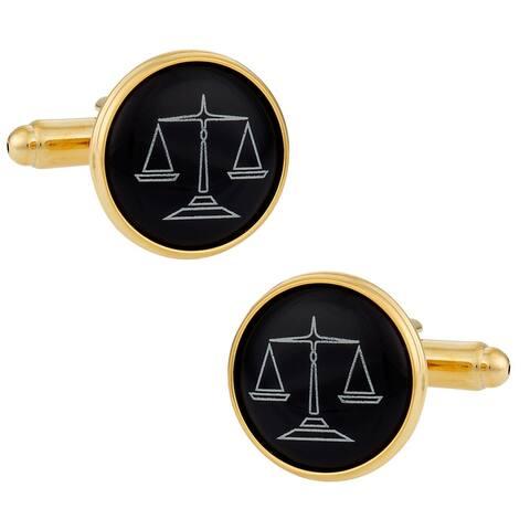 Cuff Daddy Goldplated Attorney Cuff Links