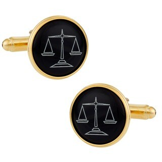 Cuff Daddy Goldplated Attorney Cuff Links
