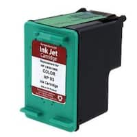 Refilled Insten Color Remanufactured Ink Cartridge Replacement for HP C9361W/ 93