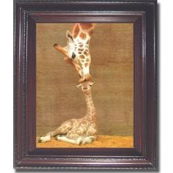 Ron D'Raine 'First Kiss' Framed Canvas Art