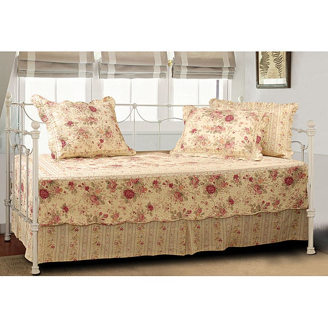 Greenland Trading Antique Rose 5-piece Daybed Cover Set (...