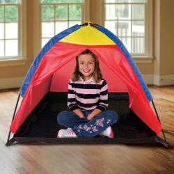 Discovery Kids Adventure 2-piece Portable Backyard Play Tent with Tube - Thumbnail 2