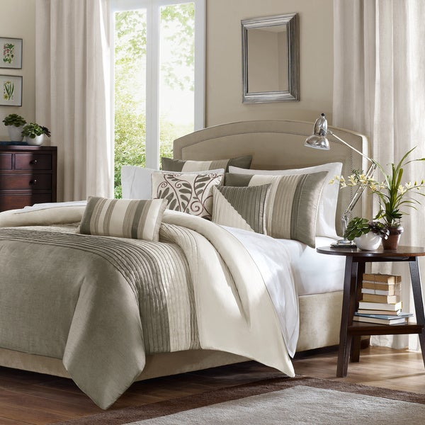 Madison Park Eastridge 6 Piece Duvet Cover Set Free