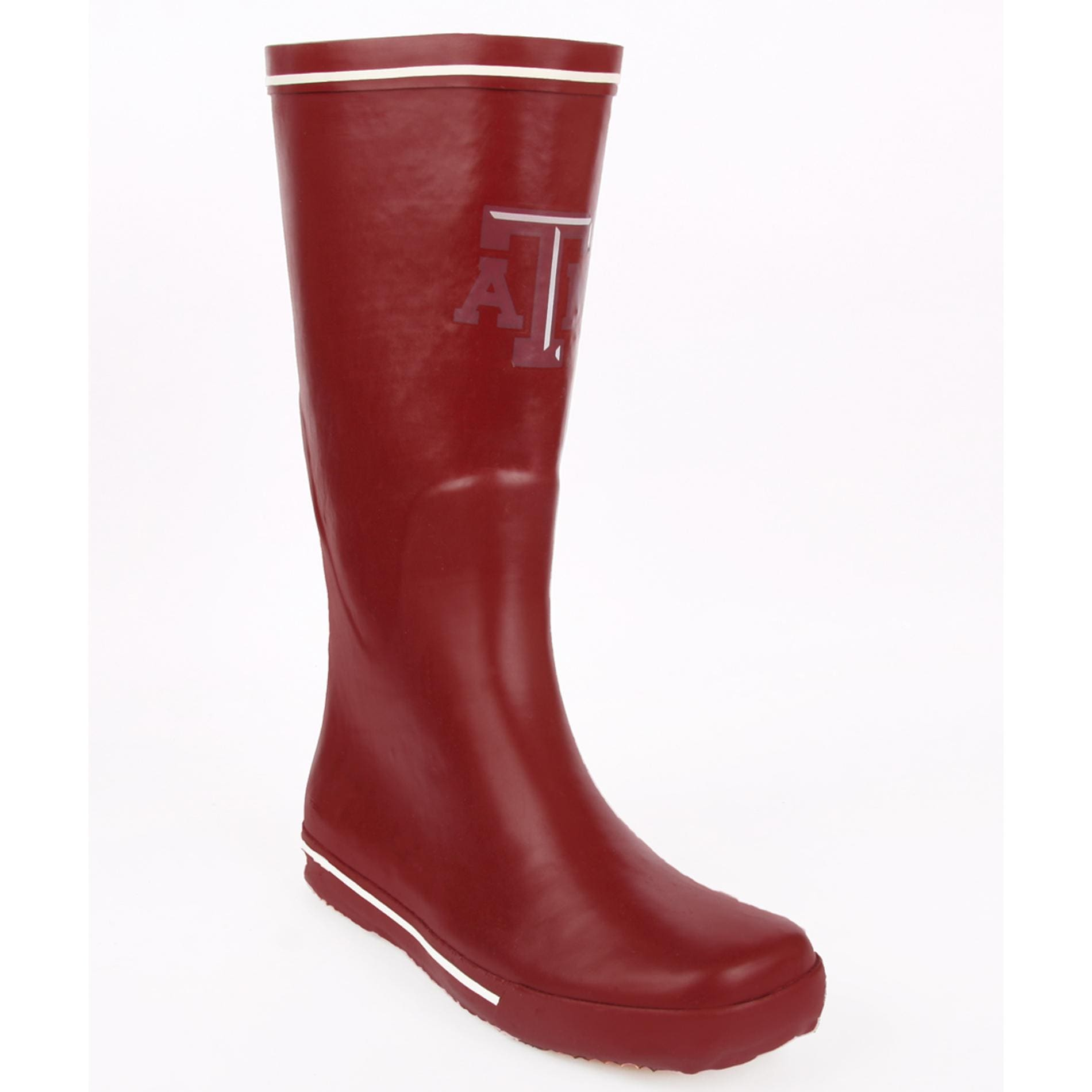 Texas A & M Aggie Women's Centered Logo Rain Boots