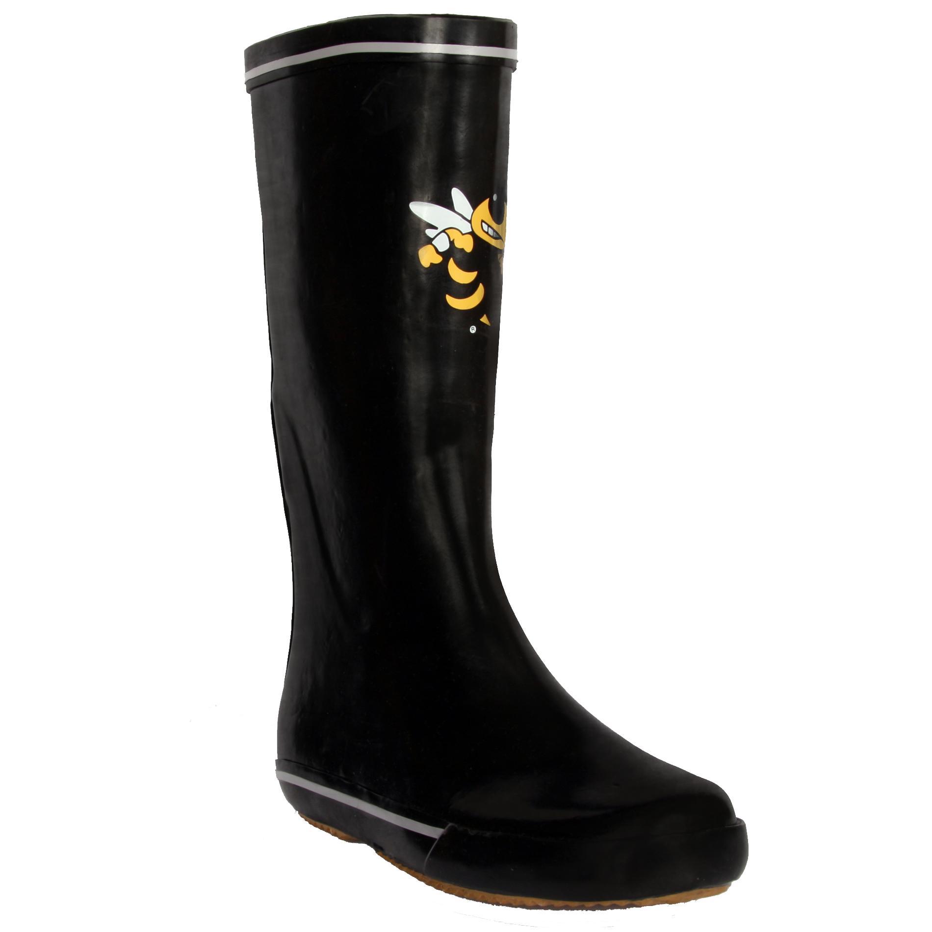 Georgia Tech Yellow Jacket Women's Centered Logo Rain Boots