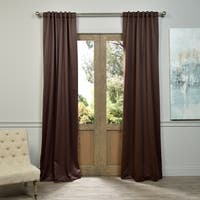 Exclusive Fabrics Java Blackout Curtain Panel Pair