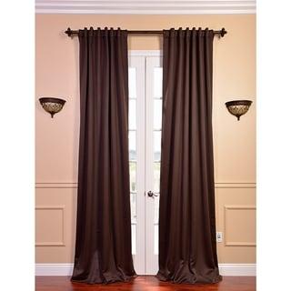 Exclusive Fabrics Java Blackout 120-inch Curtain Panel Pair
