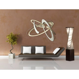 Contemporary Fabric string twirl Floor Lamp