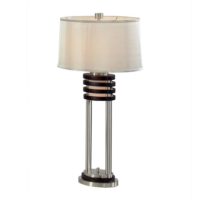 Nova Lighting 'Kobe' Wood Table Lamp (Pack of 2)