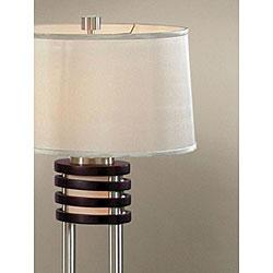 Nova Lighting 'Kobe' Wood Table Lamp (Pack of 2) - Thumbnail 1