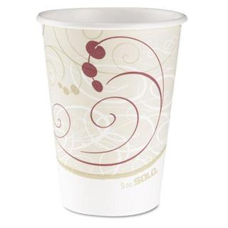 SOLO Symphony Design 12-oz Hot Drink Cups (Case of 1,000)