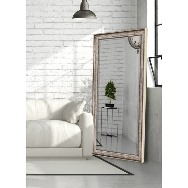 Hitchcock Butterfield Sheffield Vintage Large Silver Transitional Mirror
