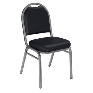 Dome-back Padded Stack Vinyl Chairs (Case of 40)