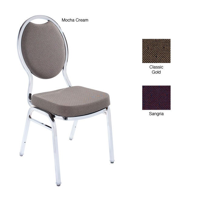 Tear Drop Style Chrome Banquet Stack Chairs (Case of 40)
