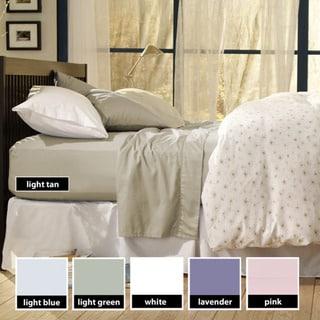 Sealy Cotton Sateen 330 Thread Count Sheet Set