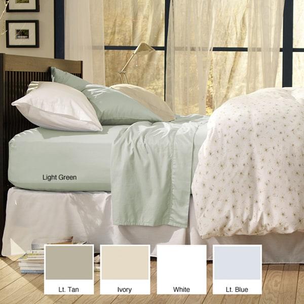 Sealy Cotton Sateen Twin/Full 330 Thread Count Bonus Sheet Set