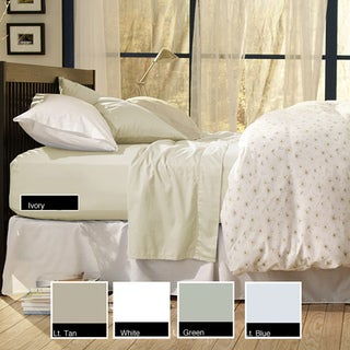 Sealy Cotton Sateen Cal King 330 Thread Count Sheet Set