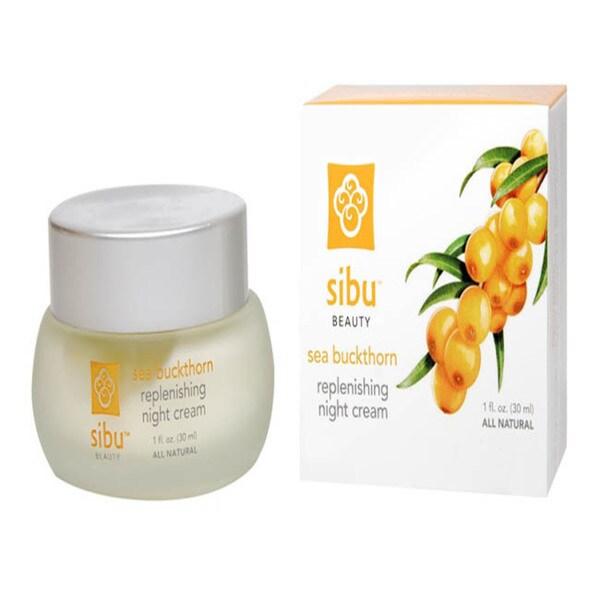 Sibu Sea Buckthorn 1-ounce Rejuvenating Night Cream