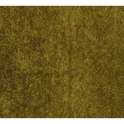 Hand-tufted Green Shag Polyester Rug (8' x 10')