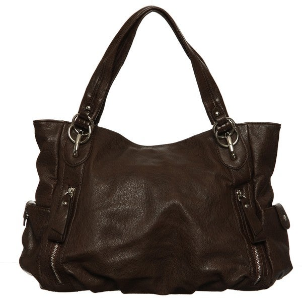 Shop Emperia Faux Leather Hobo Bag - Free Shipping On Orders Over ... 7b8ab5b6dded2