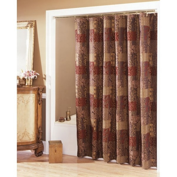 Bath bath bathroom accessories floral bathroom accessories set - Croscill Opulence Shower Curtain Free Shipping Today