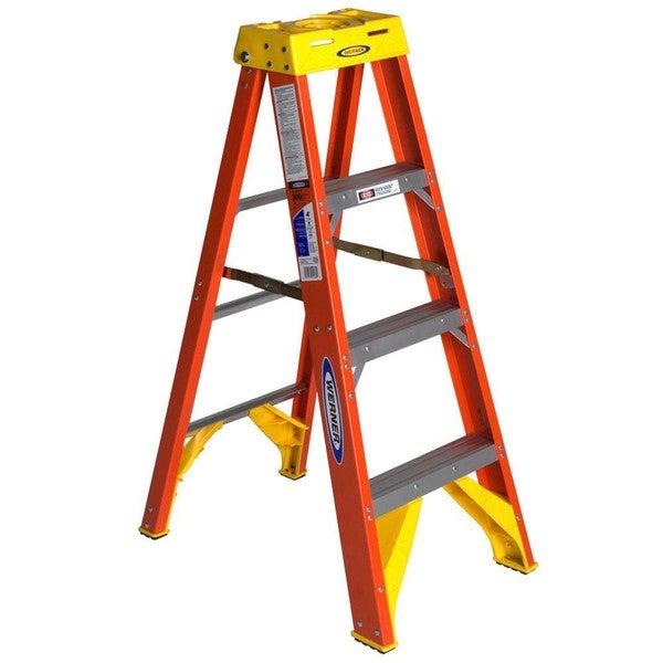shop werner ladder 4 foot step ladder free shipping today 5961032. Black Bedroom Furniture Sets. Home Design Ideas