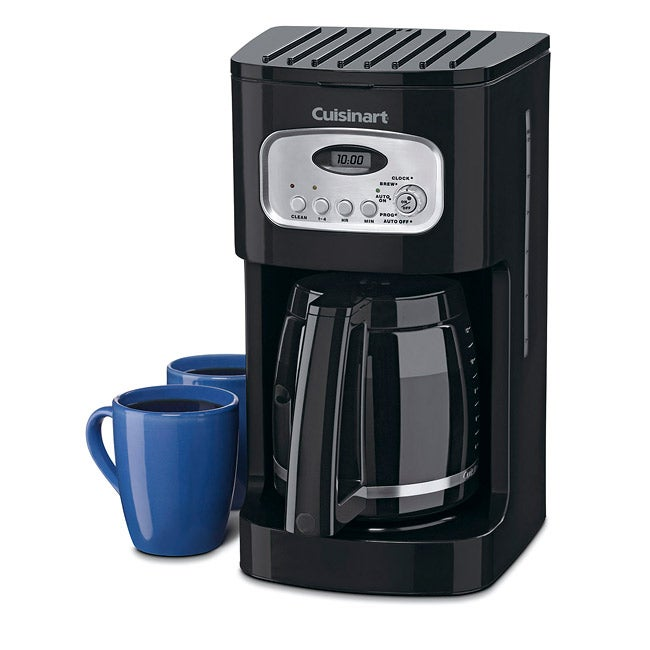 Cuisinart DCC-1100BKFR 12-cup Programmable Coffeemaker (Refurbished) - Thumbnail 0