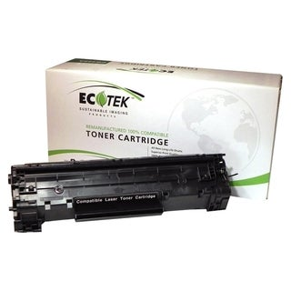 EcoTek CB435A-ER Remanufactured Toner Cartridge - Alternative for HP