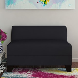 Makenzie Midnight Armless Loveseat