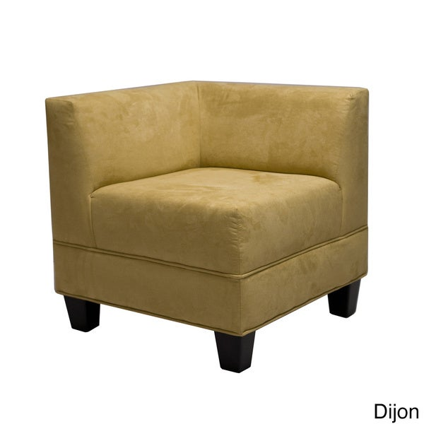 Makenzie Corner Chair Free Shipping Today Overstock