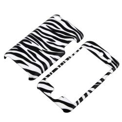 INSTEN White/ Black Zebra iPod Case Cover for Apple iPod touch 4th Gen - Thumbnail 1