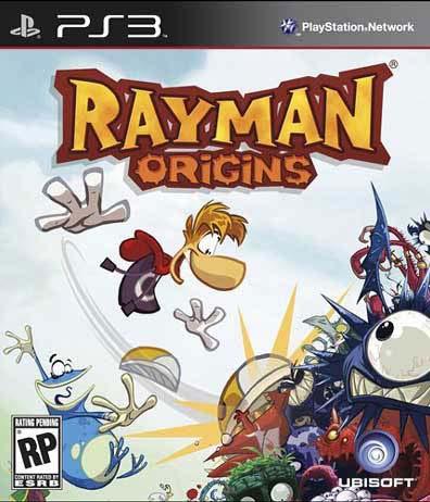 PS3 - Rayman Origins - By Ubisoft