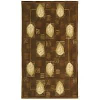 Safavieh Handmade Foliage Sage Wool Rug - 7'9 x 9'9