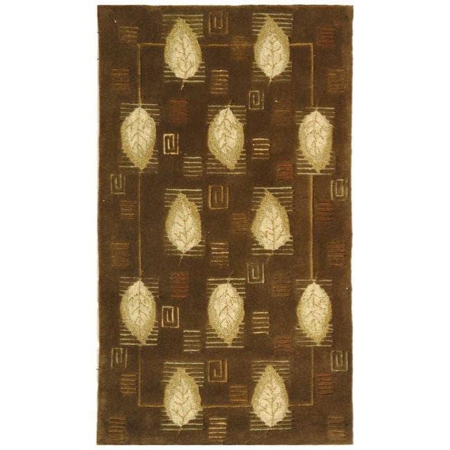 Safavieh Handmade Foliage Sage Wool Rug - 8'3 x 11'