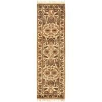 Safavieh Handmade Classic Jaipur Gold Wool Runner Rug - 2'3 x 12'