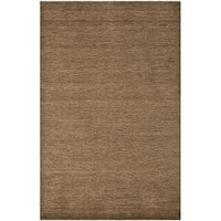 Safavieh Handmade Himalaya Solid Brown Wool Area Rug - 4' x 6'